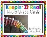 Photo Shape Cards