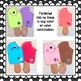 Summer Popsicle Craft Writing and Graph Activities