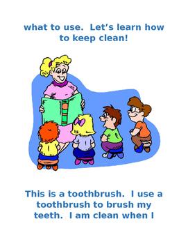 Keeping Clean Interactive Social Story