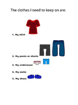 Keeping Clothes On Social Story(No Disrobing/clothes off) #BTSBONUS