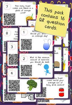 Keeping Healthy QR Code Quiz