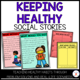 Keeping Healthy: Social Distancing and Covid-19 Social Stories and Activities