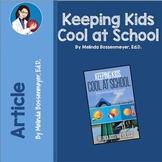 Keeping Kids Cool in School