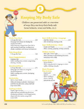 Keeping My Body Safe: Language and Math Activities