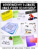 Keeping My Hands and Feet to Myself- Behavior Basics Program