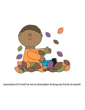 Keeping My Hands to Myself: A Social Story for Children with Autism