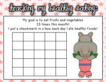 {Keeping Our Hearts Healthy!}-- Promoting healthy eating at school!