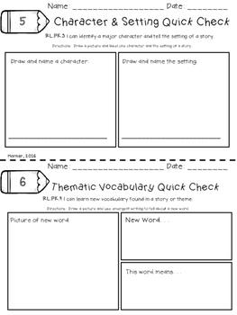 Keeping Score with Quick Checks-Language Arts Edition