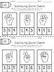 Keeping Score with Quick Checks-Mathematics Edition