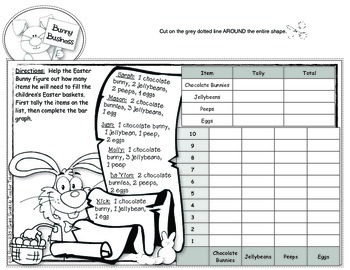 Keeping Tabs on Easter {Interactive Tab Book for Math & Literacy Fun}
