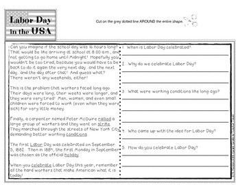 Keeping Tabs on Labor Day {Interactive Tab Book for Social Studies and ELA}