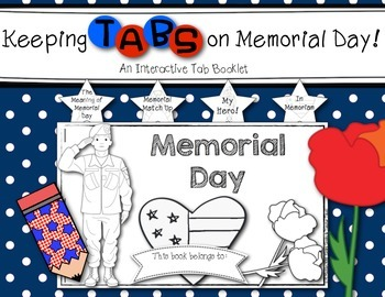 Keeping Tabs on Memorial Day {Interactive Tab Book for Social Studies and ELA}