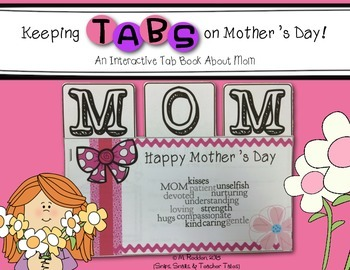 Keeping Tabs on Mother's Day {Interactive Tab Book About Mom}