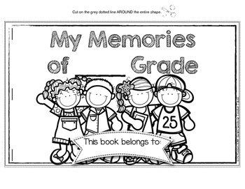 Keeping Tabs on School Memories {Tab Booklet Keepsake for the End of the Year}