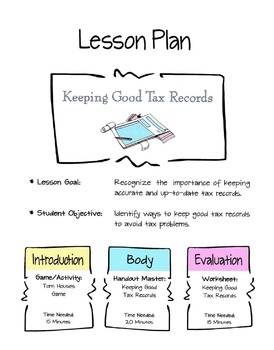 Keeping Tax Records Lesson