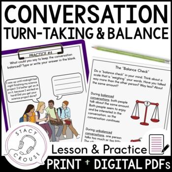 Keeping The Conversation Balanced: A Mini Unit for Social Language Practice