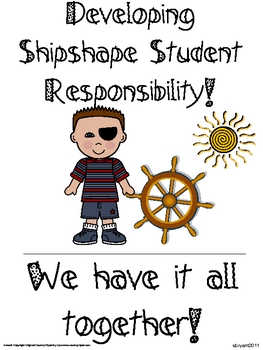 Back to School Classroom Management (Pirate Ocean Theme)