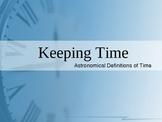 Keeping Time Presentation