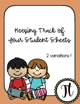 Keeping Track of Your Students
