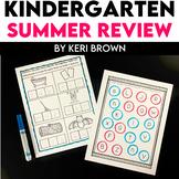 Summer Review for Kindergarten