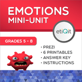 Mental Health Mini-Unit: Emotion Management | Prezi & Printables