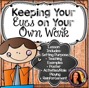 Keeping Your Eyes on Your Own Work