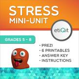 Stress Management   Mental Health Mini-Unit   Prezi & Printable Activities