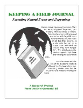 Keeping a Field Journal-Recording Natural events and happenings