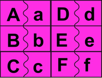 Keeping it Simple: Upper and Lower Case Alphabet Match Common Core