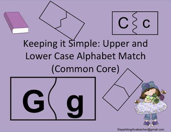 Keeping it Simple: Upper and Lower Case Alphabet Match Com