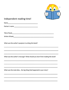 Keeping them busy while you hold a guided reading group!