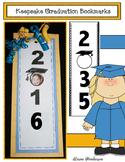 Kindergarten & Preschool Graduation Activities Keepsake Bookmarks Through 2035