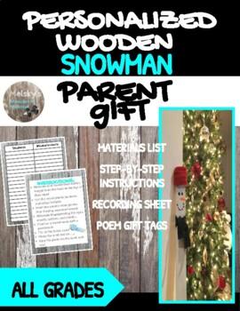 Keepsake Snowman Gift Two Ways