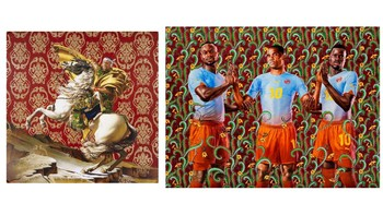 Kehinde Wiley Celebrity Portrait Powerpoint