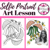 Kehinde Wiley Portrait Art Lesson for Kids (Emergency Sub Plans)