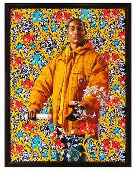 Kehinde Wiley Portrait UNIT