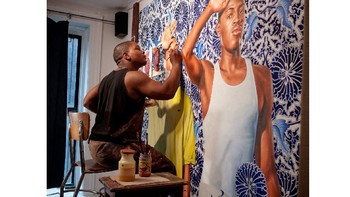 Kehinde Wiley Power Point