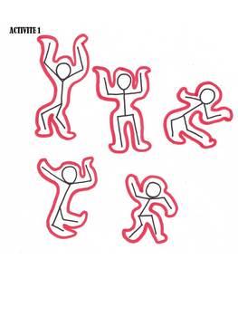 """Keith HARING activités """"le corps en mouvement"""""""