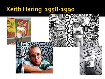 Keith Haring Art Power Point