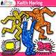 Keith Haring Clip Art | Dancing Figures, Atom, UFO for Art History Lesson Ideas