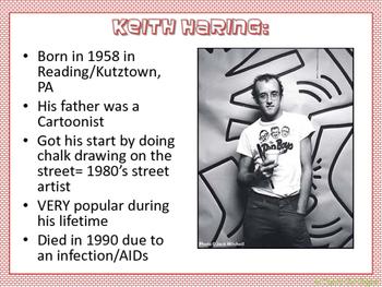 Keith Haring graffiti project