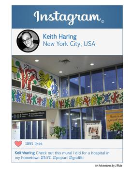 Keith Haring Instagram - Artist Instagram Series
