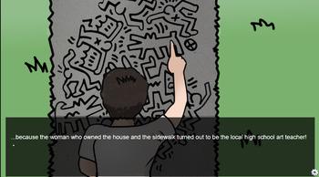 Keith Haring Interactive Biography