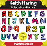 Keith Haring Letters A-Z