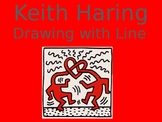 Keith Haring, Painting with Line