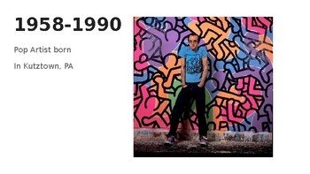 Keith Haring Simple Powerpoint