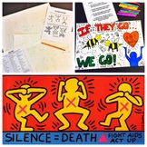 Keith Haring Social Issues Poster Lesson