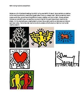 Keith Haring Social Posters