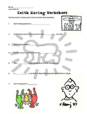Keith Haring Worksheet