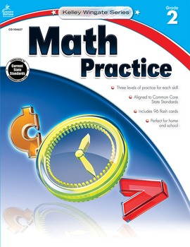 Kelley Wingate Math Practice Grade 2 SALE 20% OFF! 104627